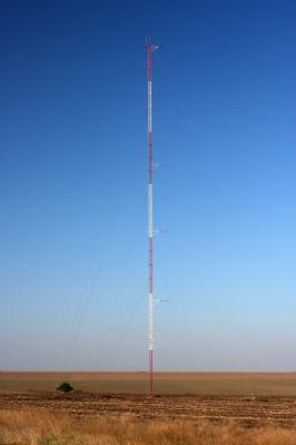 82m lattice mast